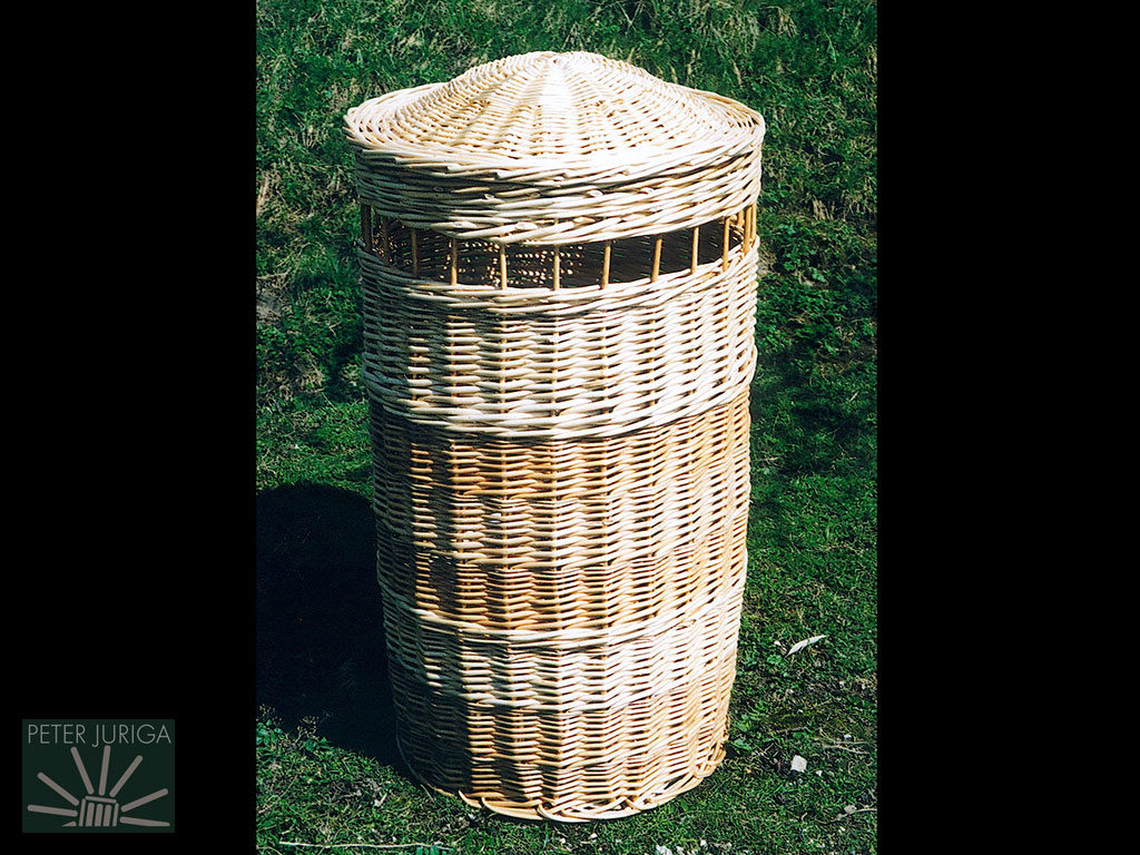 2000-1 This basket truly launched me into serious basketry, leading me towards the ultimate goal of publishing my own book | Peter Juriga