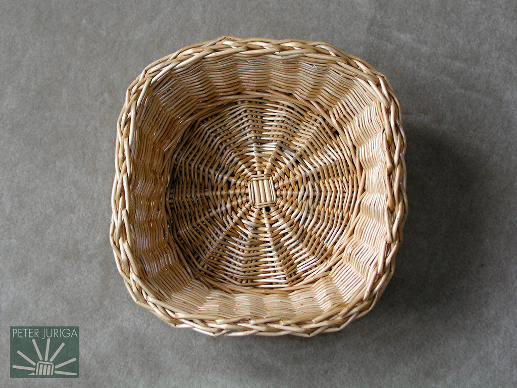 2003-02 This bowl started round and ended square. | Peter Juriga