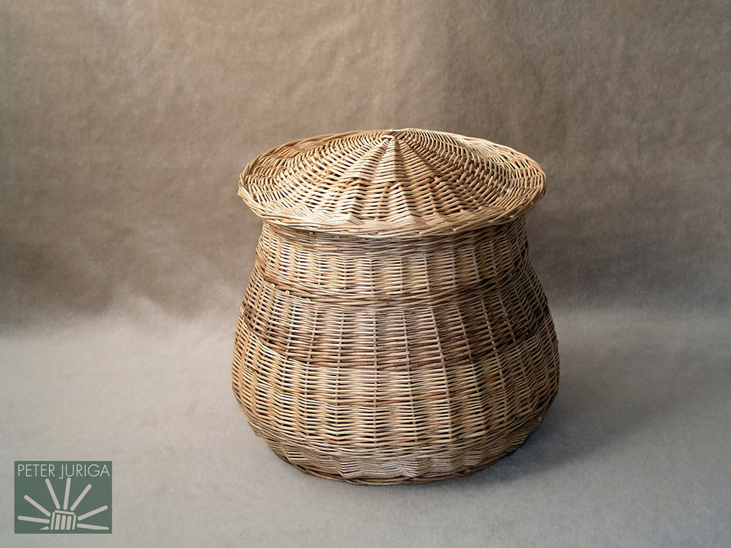 2003-09 A basket which demonstrated how to shape a weave and make this particular lid | Peter Juriga