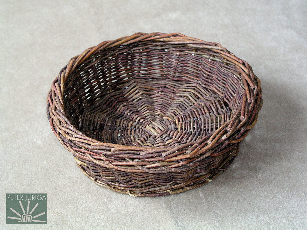 2003-10 The bowl which is the model for my basketry course. | Peter Juriga
