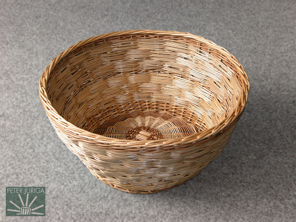 2004-1 A block weave method was demonstrated on this bowl | Peter Juriga