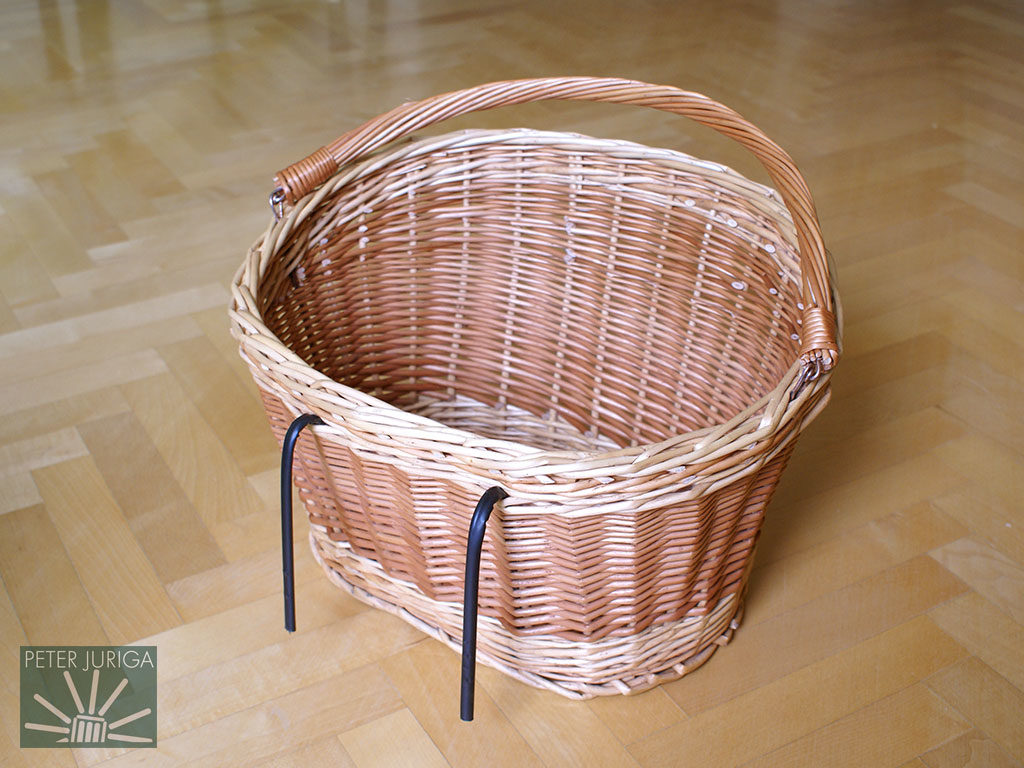 2013-1 I made this basket as part of a vintage bicycle restoration project | Peter Juriga