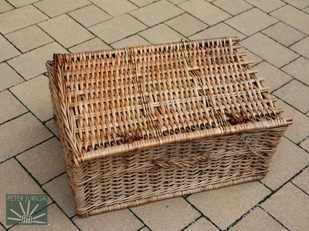 2017-7 A 120-year-old basket that was entrusted to me for renovation | Peter Juriga